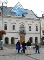 Muhlsteinov dom - budova novej Radnice na Námestí SNP 1